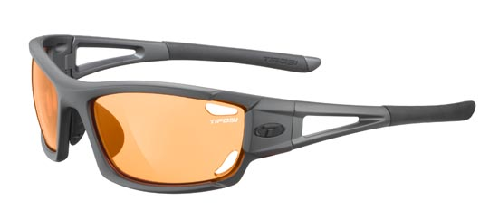 Tifosi Sunglasses - Dolomite 2.0 Matte Gunmetal - Fototec (Light-Adjusting) - DISCONTINUED