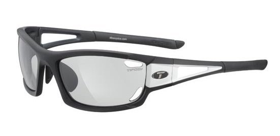 Tifosi Sunglasses - Dolomite 2.0 Black/White - Fototec (Light-Adjusting)