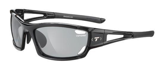 Tifosi Sunglasses - Dolomite 2.0 Gloss Black - Fototec (Light-Adjusting) Polarized