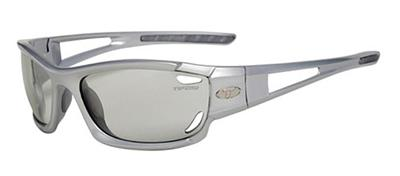 Tifosi Sunglasses - Dolomite Metallic Silver - Fototec (Light-Adjusting) - DISCONTINUED
