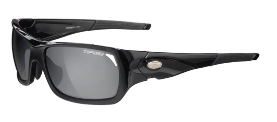Tifosi Sunglasses - Duro Gloss Black - Golf & Tennis Edition