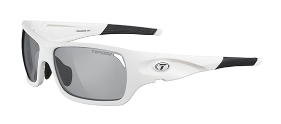 Tifosi Sunglasses - Duro Matte White - Fototec (Light-Adjusting)