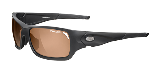 Tifosi Sunglasses - Duro Matte Black - Fototec (Light-Adjusting) Polarized - DISCONTINUED