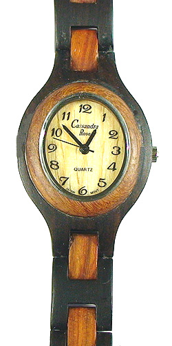 Romano Due Oval - Wooden Watch (ERV26WL) - CLEARANCE SALE - DISCONTINUED