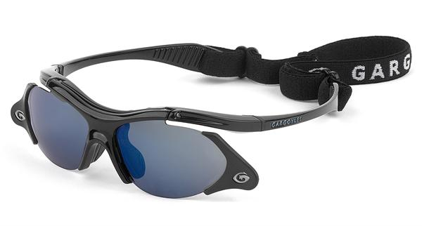 Gargoyles Sunglasses - Rover Black with Blue Lens - Function Collection - DISCONTINUED