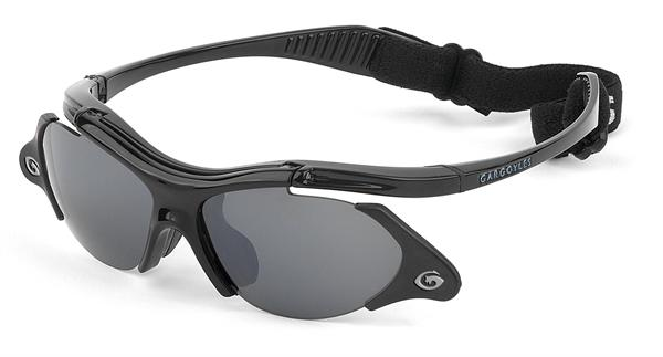 Gargoyles Sunglasses - Rover Black with Smoke Lens - Function Collection - DISCONTINUED