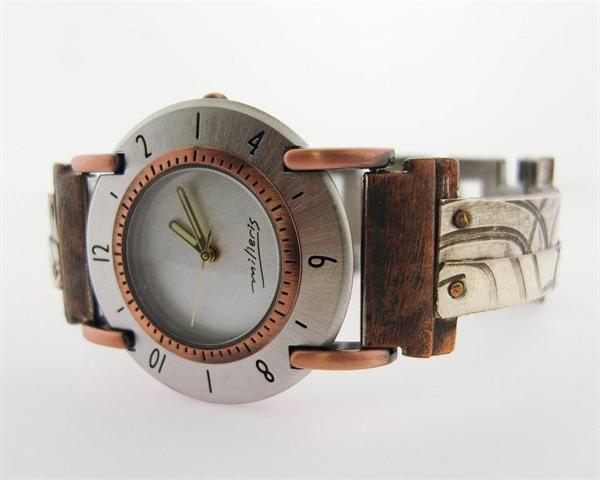 Large Full Moon - WatchCraft (R) Handmade Watch (FMCV3)
