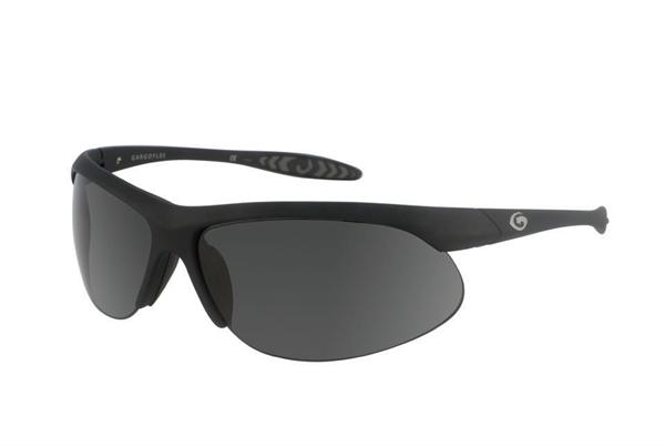 Gargoyles Sunglasses - Firewall Black with Smoke Polarized Lens - Instinct Collection - DISCONTINUED