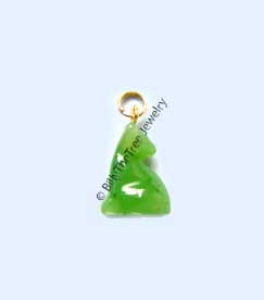 Jade Cat Charm (HNW-0233-07) - DISCONTINUED