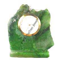 Jade Natural Style Clock (0720-19) - DISCONTINUED