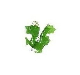 Jade Walking Dragon Charm