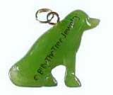 Jade Dog Charm (HNW-1315-11) - DISCONTINUED