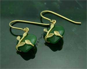 Polar Jade Earrings (EH0136)