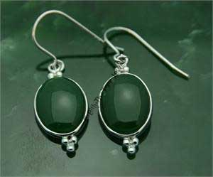 Jade Earrings (E1442) - PRE-HOLIDAY BLOWOUT SALE