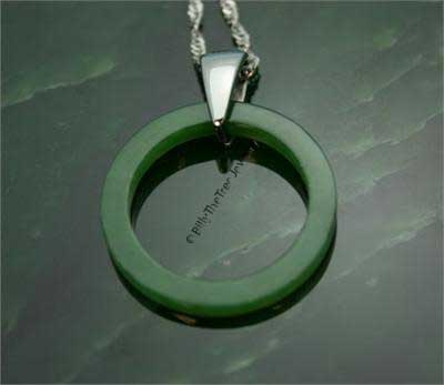 Jade Circle of Life Pendant (UJKK-2334)