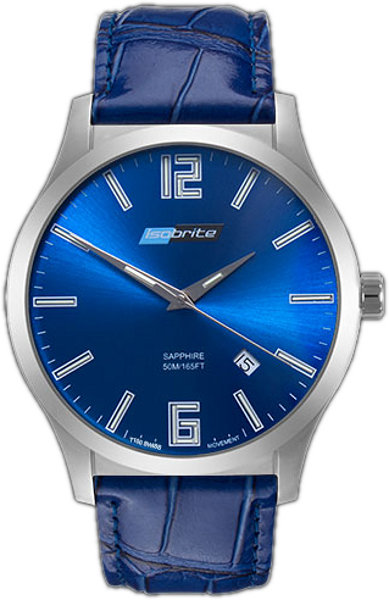 ArmourLite Watch - Isobrite Grand Slimline Series ISO903 - Blue & Blue