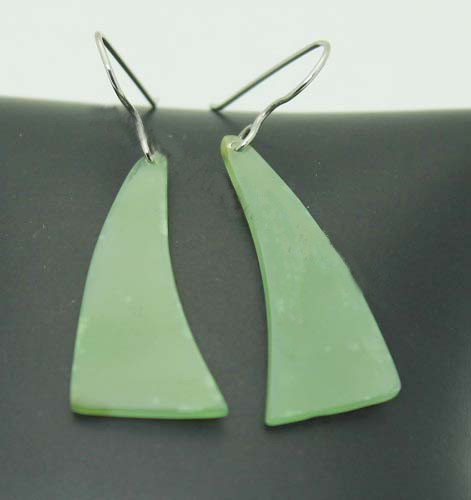 Siberian Jade Drop Earrings (UJKK-2799)