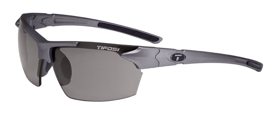 Tifosi Sunglasses - Jet Gunmetal - Fototec (Light-Adjusting) Polarized - DISCONTINUED