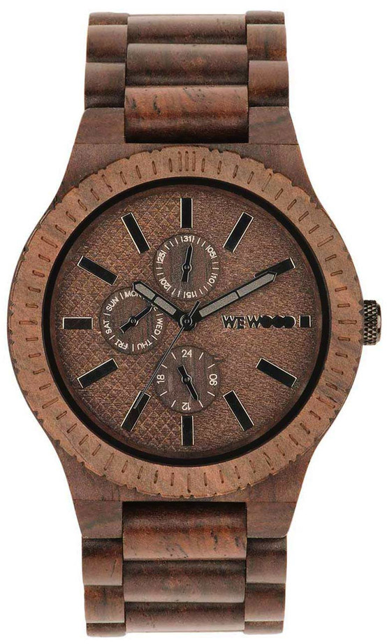 WeWood Wooden Watch - Kos Chocolate (wwood801KC) - DISCONTINUED
