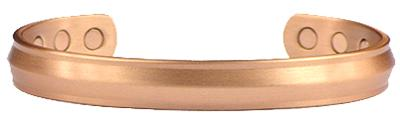 Copper Bliss - Solid Copper Magnetic Therapy Cuff Bracelet (kw291ac)