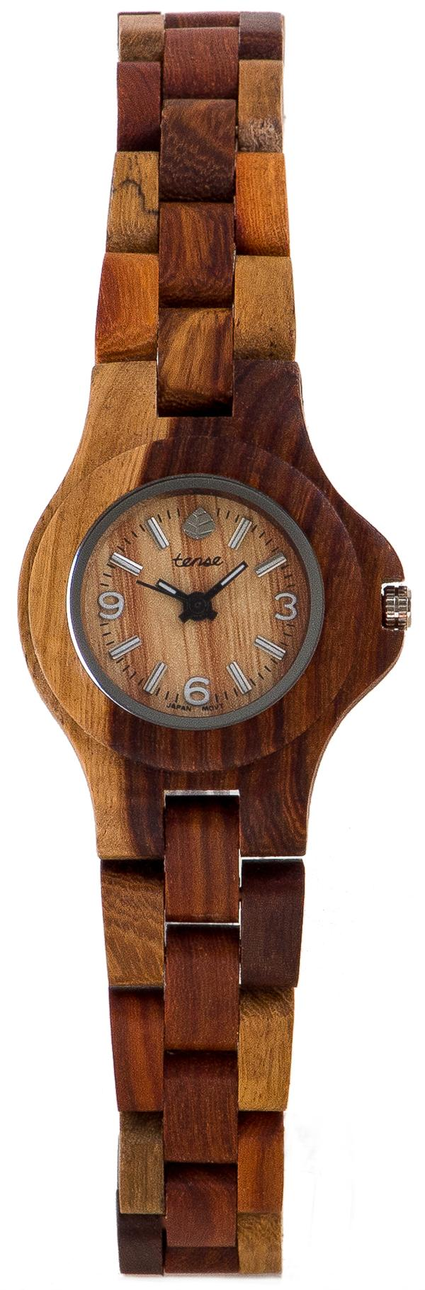 Tense Wooden Watch - Women's Mini Northwest Watch (L4300I)