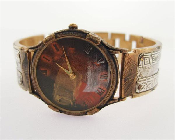 Large Minstrel - WatchCraft (R) Handmade Watch (LMCG3) - DISCONTINUED