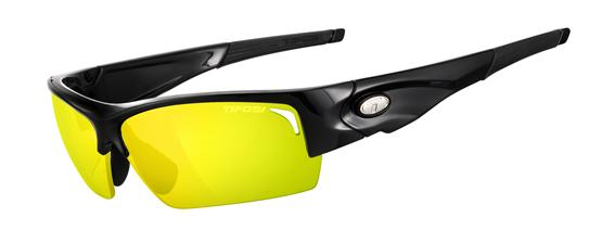 Tifosi Sunglasses - Lore Gloss Black Interchangeable - Golf & Tennis Edition - DISCONTINUED