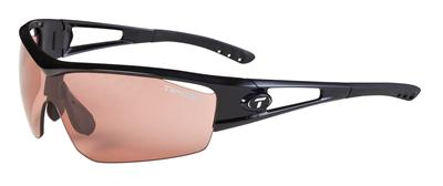 Tifosi Sunglasses - Logic Gloss Black - Fototec (Light-Adjusting) - DISCONTINUED