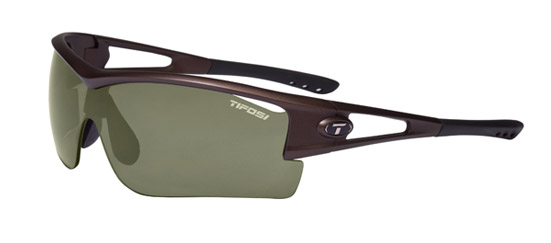 Tifosi Sunglasses - Logic XL Matte Brown - Golf & Tennis Edition - LIMITED STOCK