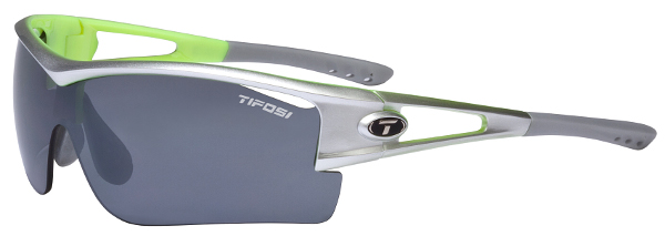 Tifosi Sunglasses - Logic XL Silver / Neon Green - DISCONTINUED