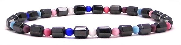 Hematite Colors - Magnetic Therapy Anklet (M301AK)