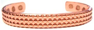 Nerio - Solid Copper Magnetic Therapy Bracelet (MBG-18)