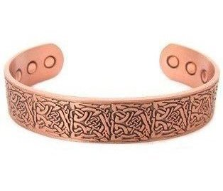 Apollo - Solid Copper Magnetic Therapy Bracelet (MBG-22)
