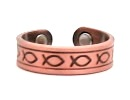 Copper Fish- Magnetic Therapy Ring (CCR-124)