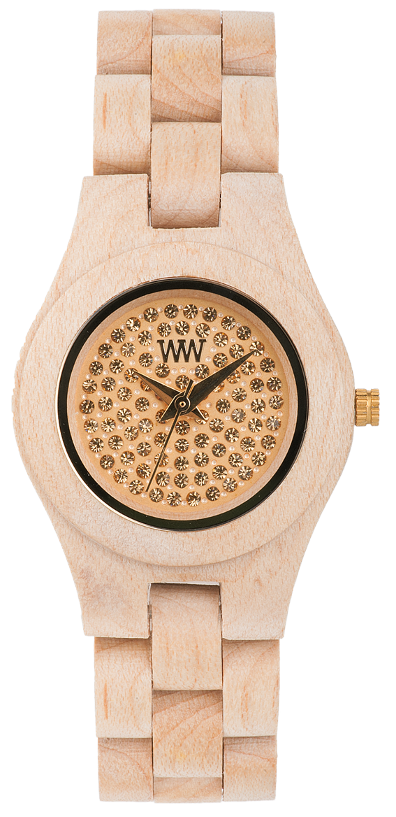 WeWood Wooden Watch - Moon Crystal Beige - CLEARANCE
