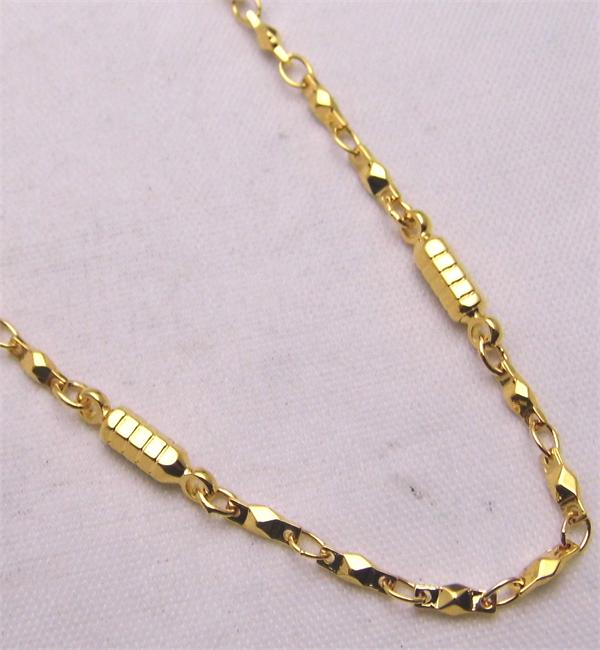 Golden Dream - Gold Plated Magnetic Therapy Necklace (N-200)