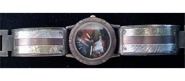 Large Porthole - WatchCraft (R) Handmade Watch (P2T13)