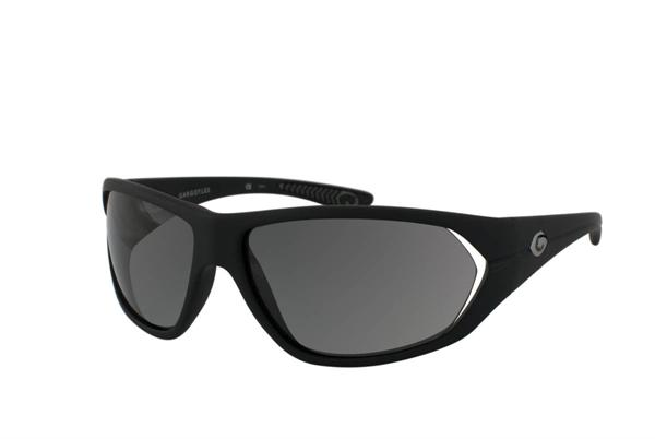 Gargoyles Sunglasses - Camber Black with Smoke Polarized Lens - Instinct Collection - DISCONTINUED