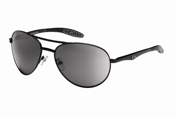 Gargoyles Sunglasses - Alfa Black with Smoke Lens - Classic Collection - DISCONTINUED