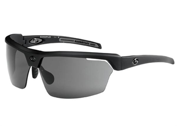 Gargoyles Sunglasses - Cardinal Black with Smoke Lens - Instinct Collection - DISCONTINUED