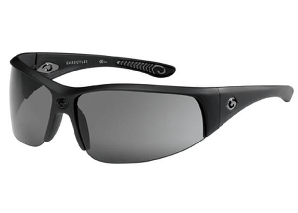 Gargoyles Sunglasses - Cache Black with Smoke Lens - Instinct Collection - Discontinued