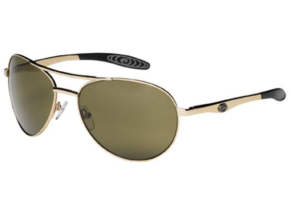 Gargoyles Sunglasses - Alfa Gold with Green Lens - Classic Collection - DISCONTINUED