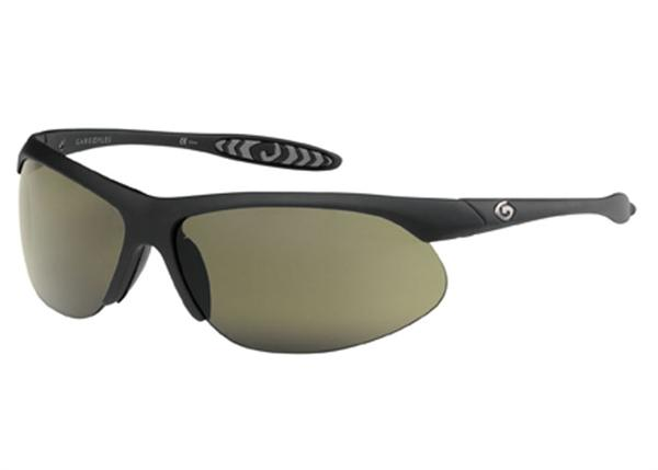 Gargoyles Sunglasses - Firewall Black with Green Lens - Instinct Collection - DISCONTINUED