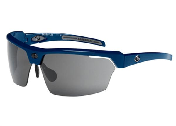 Gargoyles Sunglasses - Cardinal Blue with Smoke Lens - Instinct Collection