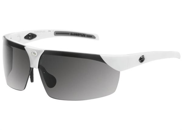 Gargoyles Sunglasses - Trial White with Smoke Lens - Instinct Collection - DISCONTINUED