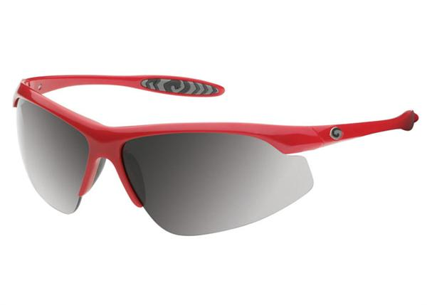 Gargoyles Sunglasses - Striker Red with Smoke Lens - Instinct Collection - DISCONTINUED