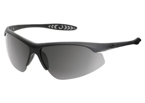 Gargoyles Sunglasses - Striker Black with Smoke Polarized Lens - Instinct Collection - DISCONTNUED