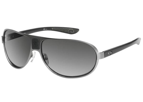 Gargoyles Sunglasses - Pilot Gun with Smoke Polarized Lens - Classic Collection - DISCONTINUED