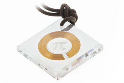 Q Ray Pendant, Q-Ray Crystal Diamond Pendant (Q302) - DISCONTINUED