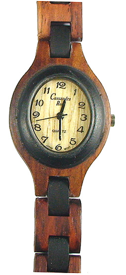 Romano Uno Oval - Wooden Watch (REV26WL) - CLEARANCE SALE - DISCONTINUED